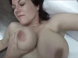 Sexy 26 years old Karolina on casting amateur blowjob cumshot video