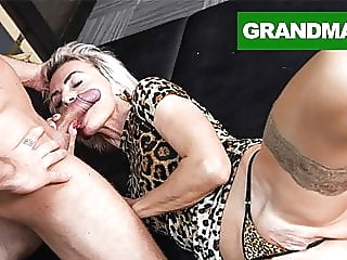 Sluttiest Granny Craving for Creampie blowjob hardcore creampie video