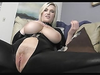 JOI #3 blonde bbw pov video
