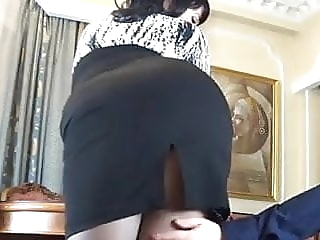 Russian secretary anal anal blowjob brunette video