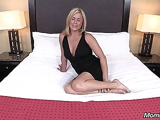 MILF POV - Lexi blonde blowjob mature video